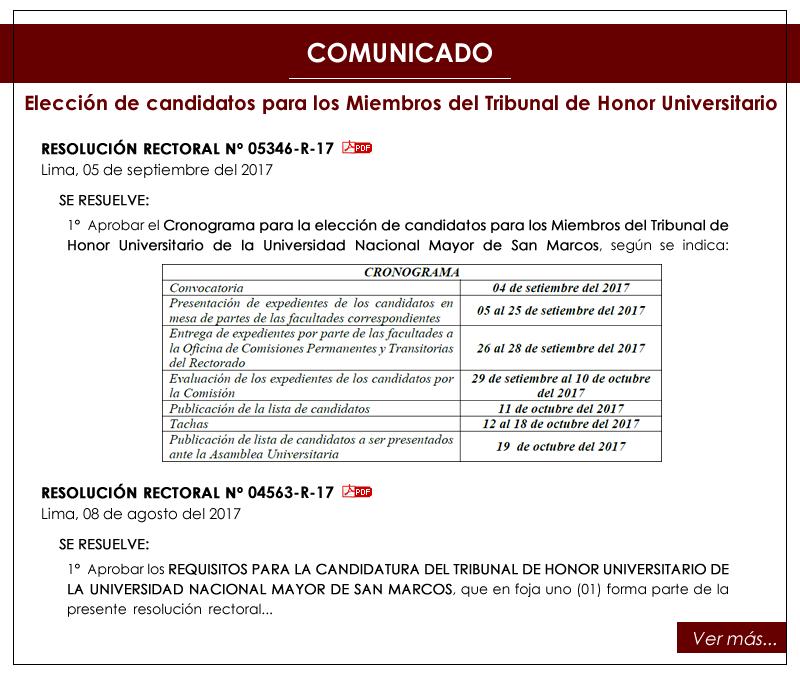 Facultad de Ciencias Económicas - UNMSM